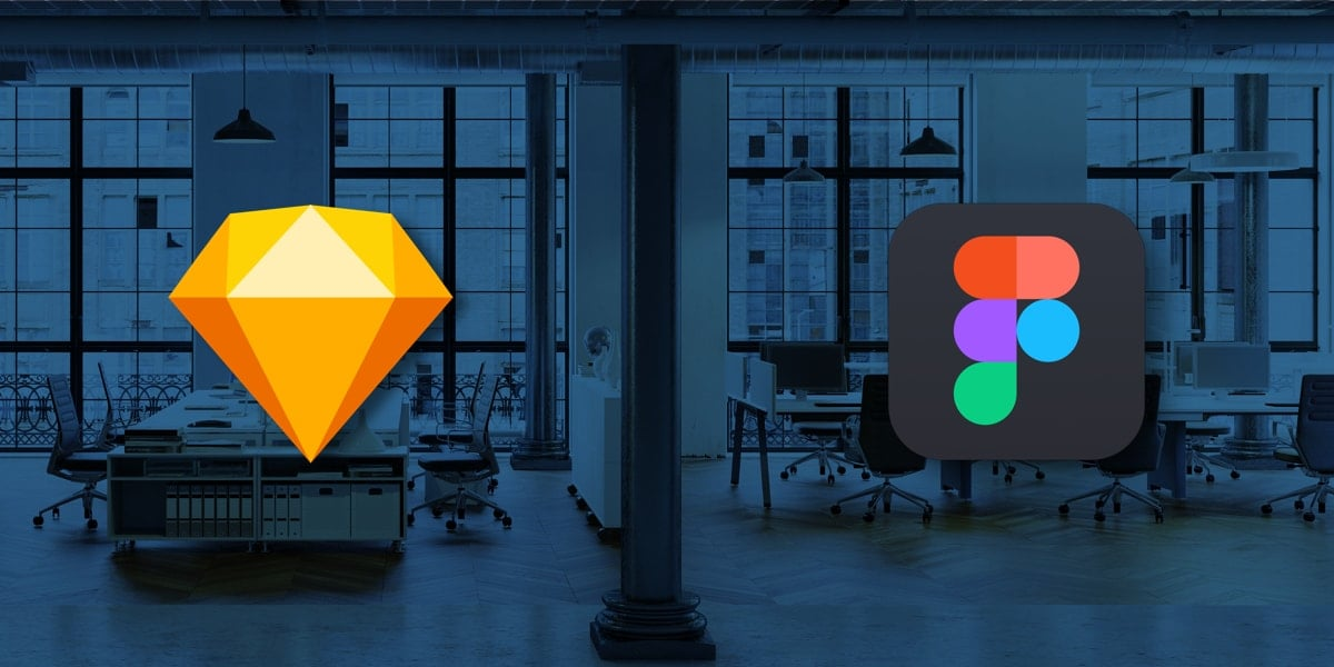The Figma and Sketch logos side by side