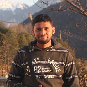 Abhishek Nagekar, web developer at CareerFoundry